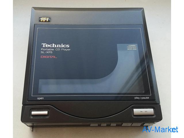 Technics SL-XP5 Portable CD Player